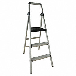 Platform Stepladder, 51 In. H, 300 lb.