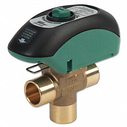 Zone Valve, 3 Way, Open System, 3/4 In NPT