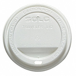 Dome Lid, for 12/16 Oz Hot Cups, PK 300