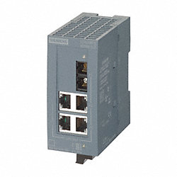 Gigabit Ethernet Sw, Unmanaged, 4/1 Ports