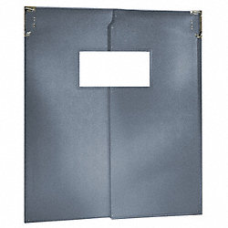 Door, Swinging, 7 Ft x 6 Ft, Met Gray, PR