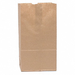 Grocery Bag, Brown, 4#, PK 500