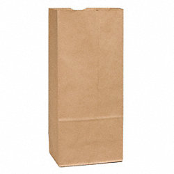 Grocery Bag, White, 25#, PK 500