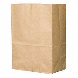 Shopping Bag, Brown, 1/6 BBL, PK 500