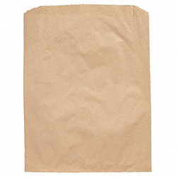 Merchandise Bag, Brown, 10x2x15, PK 500