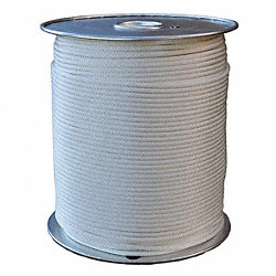 Rope, PES, Braided, 3/16 In. dia., 500 ft. L