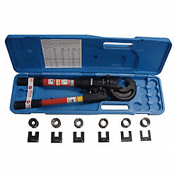 Hand Swaging Kit, 1/4-1/2, w/6 Die Sets