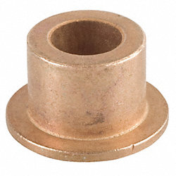 Flanged Bearing, I.D. 3/8, L 1/2, Pk 3