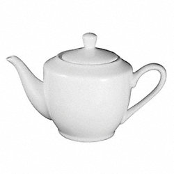 Tea/Coffee Pot, 11 Oz, Bright White, PK 24