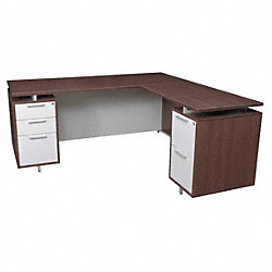 Office Desk, OneDesk Series, 66 W, Java
