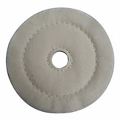 Buffing Wheel, Cushion Sewn, 4 In Dia.