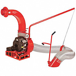 Debris Loader, 22HP, 12 Ft. Hose, 5-Blade