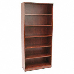 Bookcase, Legacy Series, 5-Shelf, Cherry