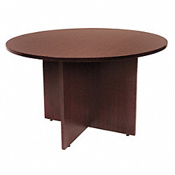 Conference Table, Legacy, 42 Dia., Mahogany