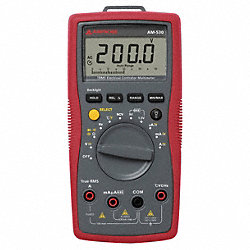Digital Multimeter, 750V, 10A, 40 MOhms
