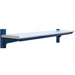 Upper Shelf, 96 W x 12 D x 4 H, Natural