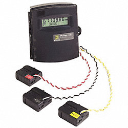 Energy Meter, Ext Range, 800A, 3CT