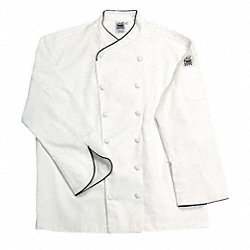 Chef Jacket, Corporate, Men, White, S