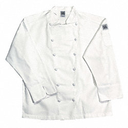 Chef Jacket, Cuisinier, Men, White, 3X