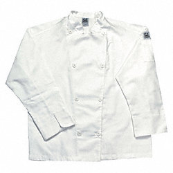 Chef Jacket, Knife/Steel, Men, White, XL