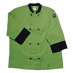 Crew Jacket, Unisex, Green, XL