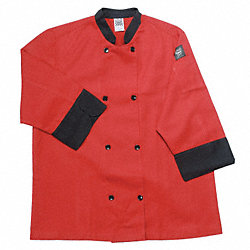 Crew Jacket, Unisex, Red, XL