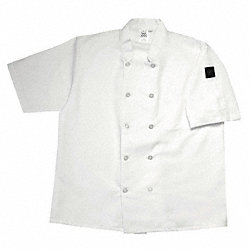 Crew Jacket, Unisex, White, Short Sleeve, L