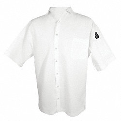 Cook Shirt, Unisex, White, Short Sleeve, L