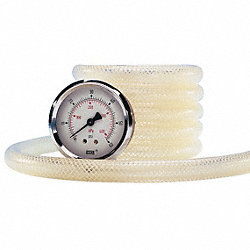 Tubing, Clear, Pressure, 1 In ID