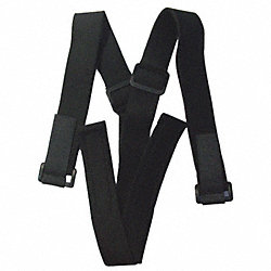 Suspenders for Back Belt, Elastic, Black