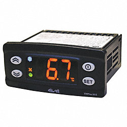 Temperature Control, Digital, SPST, 240V