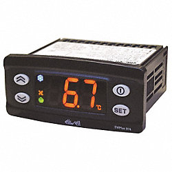 Temperature Control, Digital, DPDT, 240V