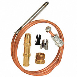 Repl Thermocouple, Snap Fit, 24 In