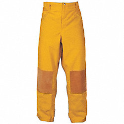 Turnout Pants, Yellow, M, Inseam 29 In.