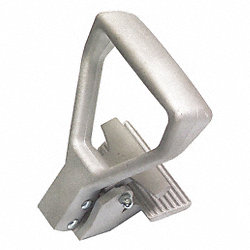 Carpet Puller, Aluminum, Serrated Clamps