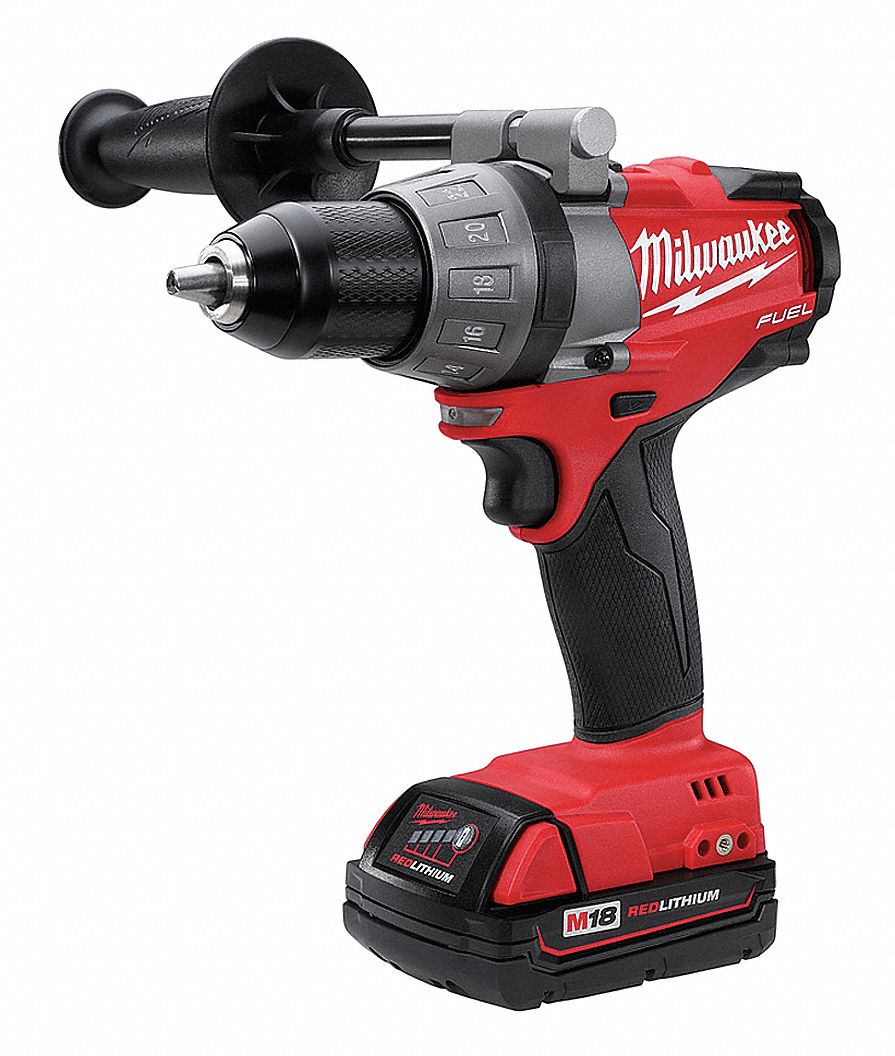 MILWAUKEE Cordless Drill/Driver Kit, 18.0V, 1/2 In. by Milwaukee 2603-22CT at Sears.com
