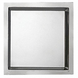 Serving Tray, 13x13, Stainless Steel