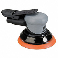 Air Random Orbital Sander, 0.26HP, 6 In.
