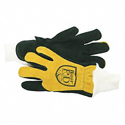Firefighters Gloves, 2XL, Cowhide Lthr, PR