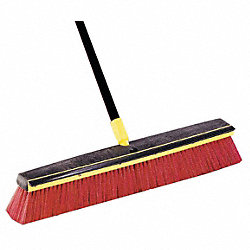 Push Broom, PP, Hvy Dty Blck, 60-9/16In OAL