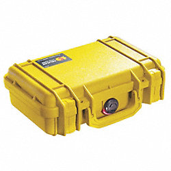 Protector Case, 0.12 cu. ft., Yellow