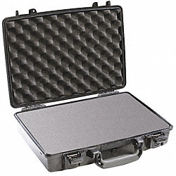 Protector Case w/Foam, 0.35 cu. ft., Black