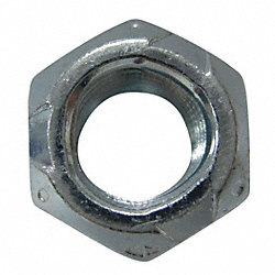 Locknut, Steel, Zinc, 1/4-28, PK 5500