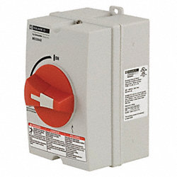Motor Disconnect Switch, 60A, 3P, NEMA 4X
