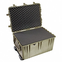 Protector Case w/Foam, 5.66 cu ft., OD Grn