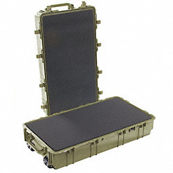 Protector Case w/Foam, 8.07 cu ft., OD Grn