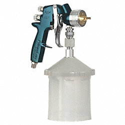 Siphon Spray Gun, 0.059In/1.5mm