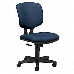 Work / Task Chair, 250 lb., Navy