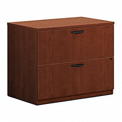 Lateral File, 35-1/2 In.W, Medium Cherry