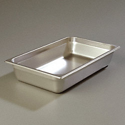 DuraPan Food Pan, Full Size, SS, PK 6